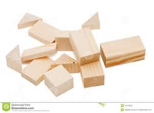 Children's Wooden Building Blocks