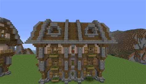 Large Country House Minecraft Build Tutorial BC GB