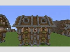 Large Country House Minecraft Build Tutorial BCGB