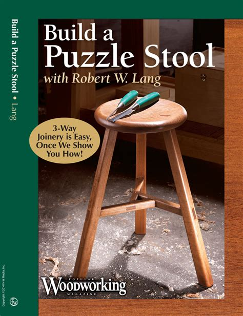 puzzle stool video   project   kind