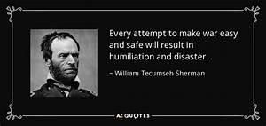 William Tecumse... War Result Quotes