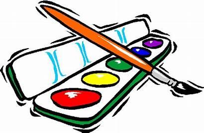 Clipart Paint Clip Watercolor Painting Cliparts Painter