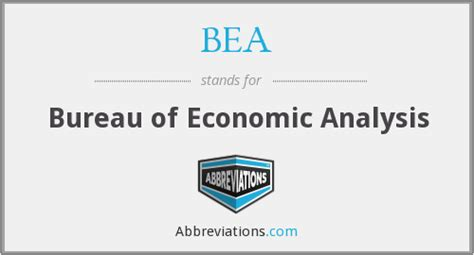 bea bureau bea bureau of economic analysis