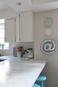 my fixer upper inspired kitchen reveal all things with With best brand of paint for kitchen cabinets with peel n stick wall art