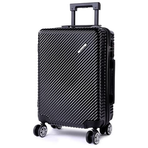 cabin suitcase size k1775l shavont deluxe shell 20 cabin size luggage