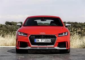 Prix Audi TT RS (2017) : le tarif du nouveau TT RS - Photo ...