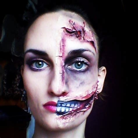 creepy halloween makeup ideas styles weekly