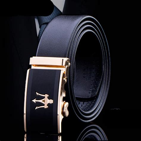 m designer belt new designer crown belt luxury car automatic fish