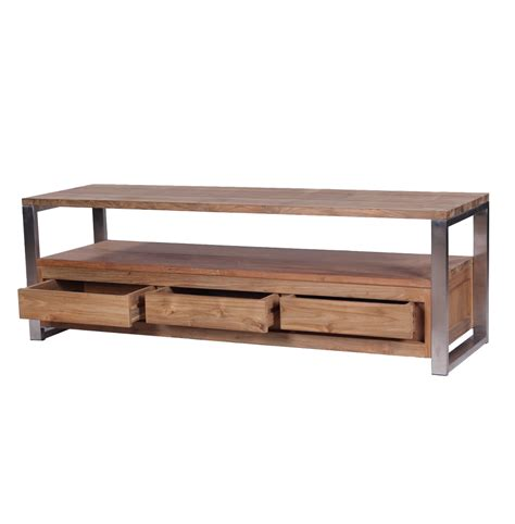 live edge console table metal legs ombak used teak furniture choice for a great home