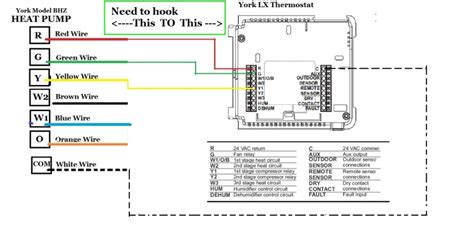 simple thermostat wiring question hvac diy chatroom home improvement forum