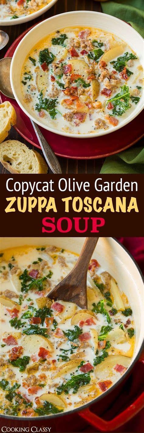 olive garden cucina zuppa toscana soup olive garden copycat cucina de yung