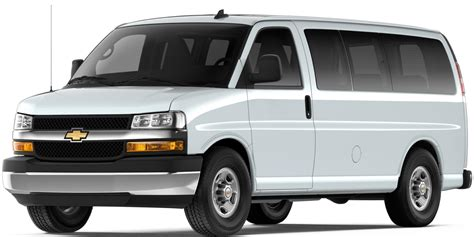 Van Express Passenger 2018