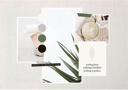 Moodboard Brand Action Creating Business Putting Into