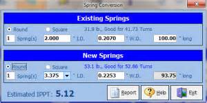 Garage Torsion Spring Chart Garage Door Torsion Spring Calculator By Weight Dandk