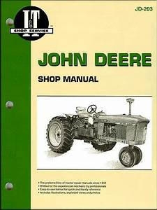 John Deere Farm Tractor Owners Service  U0026 Repair Manual