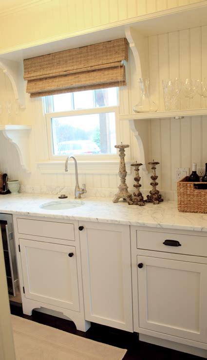 Beadboard Kitchen Walls  Cottage  Kitchen  Angie Gren