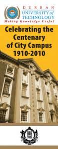 city campus centenary durban university technology