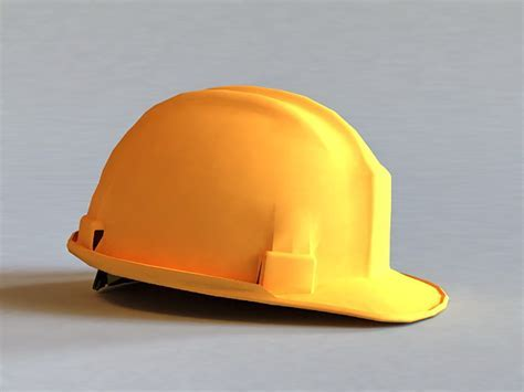 Hard Hat Safety Helmet 3d model 3D Studio files free