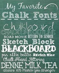 12 favorite chalk fonts images favorite chalkboard fonts With chalkboard printable generator