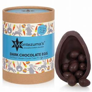 Montezuma's Dark Chocolate Egg with Dark Mini Eggs 350g