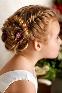 Peinados para niñas para una ocasión especial Recogido delicate