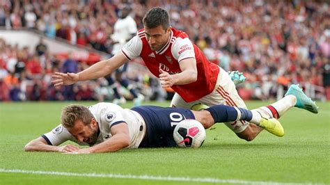 Kane denies diving to try and win penalty against Arsenal ...