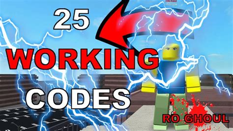 Ro-ghoul All 25 Working Codes 2019