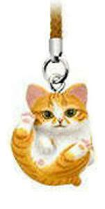 Check out our cat netsuke selection for the very best in unique or custom, handmade pieces from our figurines & knick knacks shops. Manmaru Neko Orange Striped Kitten Cat Netsuke Mascot ...