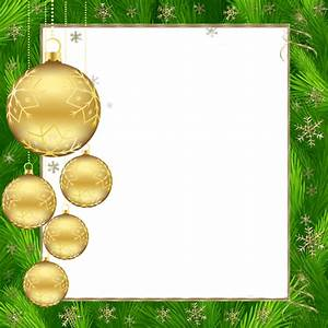 K--3--#106, Transparent Green and Gold Christmas PNG Photo ...