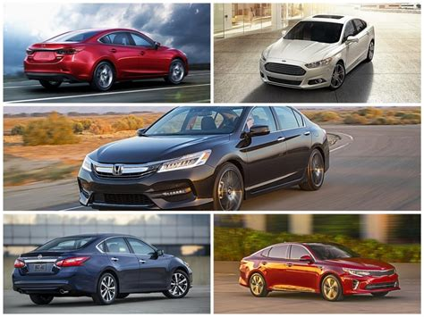 Top 5 2016 Midsize Sedans That Aren't Boring  The Fast