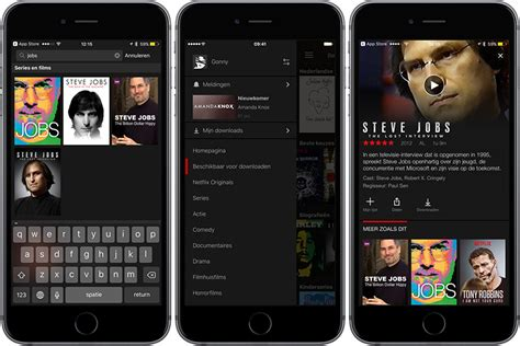 netflix app for iphone dossier netflix kijken op je iphone en mac