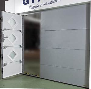 pro distribution automatismes 10600 porte sectionnelle With porte de garage sectionnelle avec serrure fichet