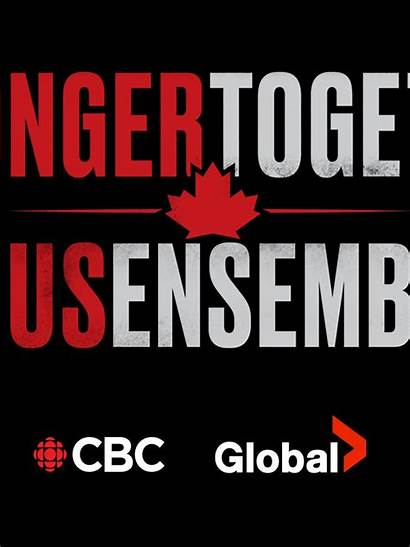 Together Stronger Canada Unite Tous Ensemble Studded