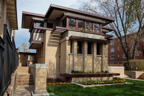 bach house 1 emil bach house front frank lloyd wright foundation
