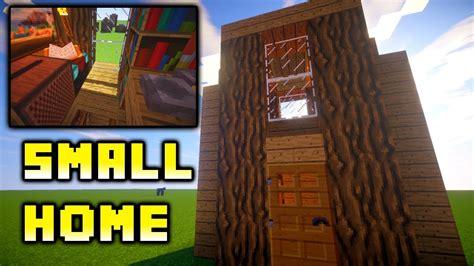 minecraft   build easy small house ideas tutorial xboxpspepc youtube