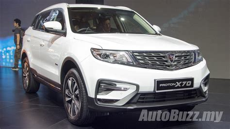 The Proton by Customer Deliveries Of The Proton X70 Begins Today