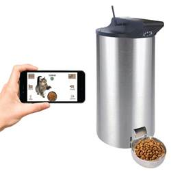cat food dispenser petpal wifi automatic cat food dispenser review smrod cats