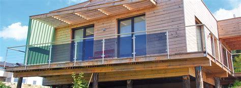 balkongeländer aus glas balkone gel 228 nder in edelstahl glas