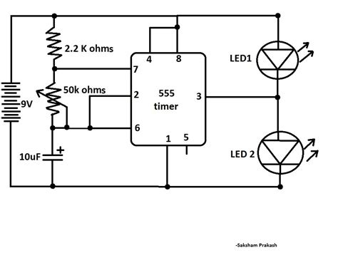 Blink Two Leds Alternatively With Classic