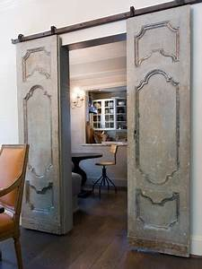 sliding barn doors geaux girlie With decorative sliding door panels