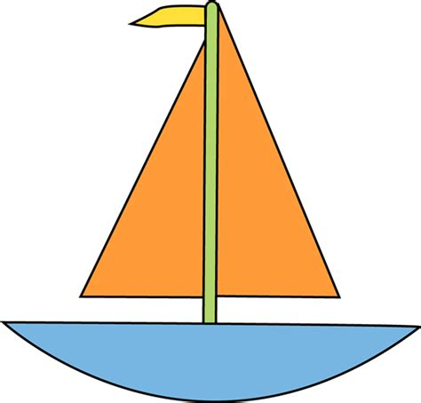 Simple Clipart Boat by Simple Boat Clipart Clipart Best