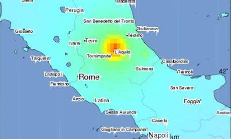 major magnitude  earthquake strikes central italy
