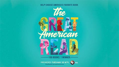 The Great American Read, A New Multiplatform Pbs Series