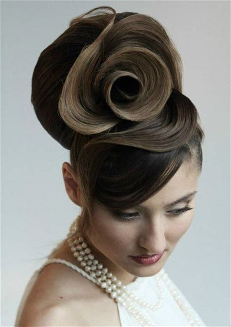 unique hair style beautiful hair updo unique hairstyle hair