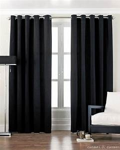 Excellent black bedroom curtains for white wooden windows for Black drapes for bedroom