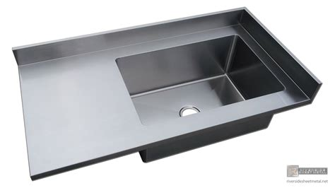best stainless steel sinks stainless steel 4 finish counter top with integrated sink