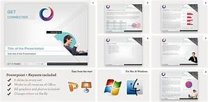 microsoft powerpoint templates and keynote templates inkd With great looking powerpoint templates