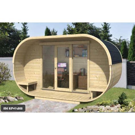 bureau de jardin en bois chalet bureau de jardin ovale kit bois thermowood