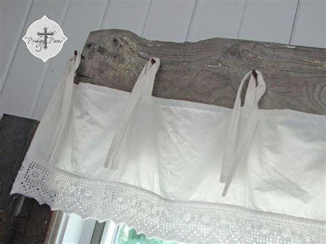 Hometalk   DIY: Barn Wood & Bedskirt Valance