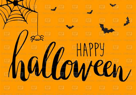 cute spiders bats  web halloween background vector